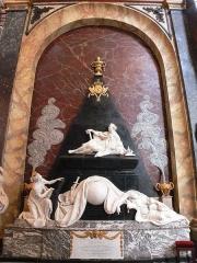 Eglise Notre-Dame-de-Bonsecours - English:   Tomb of King Stanislas Leszczynski, in Bonsecours Church, Nancy, France