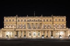 Ensemble immobilier du palais du Gouvernement - Español: Vista nocturna del Palacio de la Gobernación de Nancy