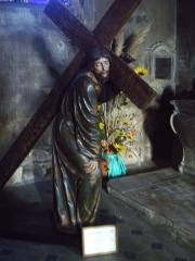 Eglise Saint-Laurent -  Le Christ portant la croix, Ligier Richier, Pont à Mousson