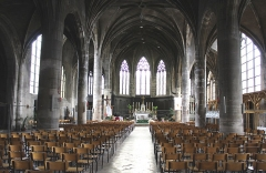 Eglise Saint-Laurent - English: Pont-à-Mousson, Saint Lawrence church, inner view