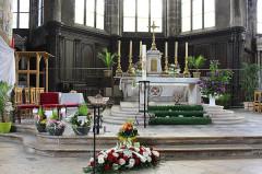 Eglise Saint-Laurent - English: Pont-à-Mousson, Saint Lawrence church, the altar