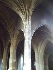 Eglise Saint-Laurent -  Voûte de Saint laurent de pont à mousson.