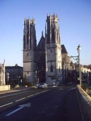 Eglise Saint-Martin -  Eglise st Martin de Pont à Mousson, façade.