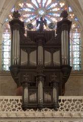 Eglise Saint-Martin - Pont-à-Mousson (Meurthe-et-Moselle, Lorraine, France) - église Saint-Martin - orgue de Claude Legros en 1704, agrandi & transformé par Pierre Rivinach en 1846.