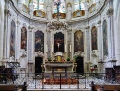 Eglise Saint-Martin - Deutsch: Chor von St. Martin, Pont-à-Mousson, Département Meurthe und Mosel, Region Lothringen (heute Großer Osten), Frankreich