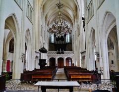 Eglise Saint-Martin - Deutsch: Langhaus von St. Martin, Pont-à-Mousson, Département Meurthe und Mosel, Region Lothringen (heute Großer Osten), Frankreich