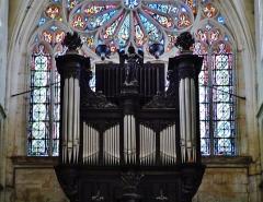 Eglise Saint-Martin - Deutsch: Orgel von St. Martin, Pont-à-Mousson, Département Meurthe und Mosel, Region Lothringen (heute Großer Osten), Frankreich
