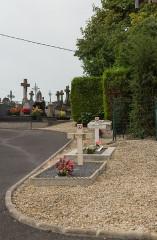 Eglise - Nederlands:   Vandieres (or Vandieres-Sous-Chatillon) Churchyard