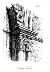 Abbaye Sainte-Marie-aux-Bois -  Sainte-Marie-au-Bois vilcey-sur-trey chapiteau Digot Chatelain 1857