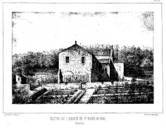 Abbaye Sainte-Marie-aux-Bois -  Sainte-Marie-au-Bois Digot Chatelain 1857