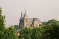 Eglise Notre-Dame - Lëtzebuergesch: Vue op d'Basilika vun Avioth
