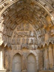 Eglise Notre-Dame - English: Portal of Notre-Dame d'Avioth