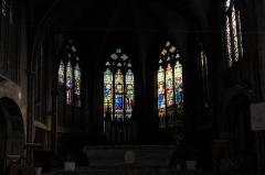 Eglise Saint-Antoine - Deutsch: Katholische Saint-Antoine, ehemalige Klosterkirche der Augustinereremiten, in Bar-le-Duc im Département Meuse (Lothringen/Frankreich), Chorfenster