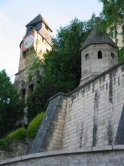 Tour de l'Horloge -  Bar-le-Duc (département Meuse; région: Lorraine; France): La tour de l'Horloge