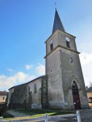 Eglise de Buzy - English: Buzy Darmont church
