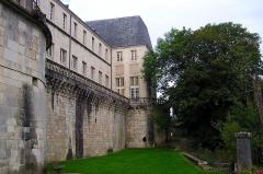 Château Stanislas -  vue sur l'arrière du chateau de Commercy