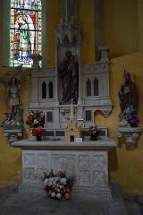 Eglise Saint-Pantaléon - Français:   de l\'église Saint-Pantaléon de Commercy.