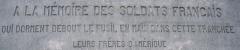 Monument dit Tranchée des Baïonnettes -  Tranchée des Baïonnettes - Entrée du mémorial