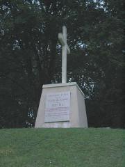 Monument dit Tranchée des Baïonnettes -  Tranchée des Baïonnettes - Stèle
