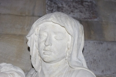 Eglise Saint-Martin - Deutsch: Étain im Department Meuse in Frankreich. Die Pieta stammt von Ligier Richier und befindet sich in der Kirche von Étain.