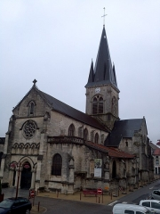 Eglise - English: Church Notre-Dame-des-Vertus in Ligny-en-Barrois
