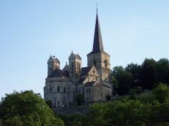Eglise -  vue sur l'église de Mont devant Sassey depuis la plaine