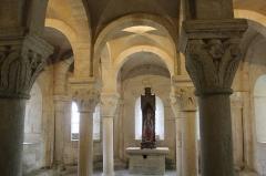 Eglise - English: Eglise Notre Dame de Mont-devant-Sassey: crypte.