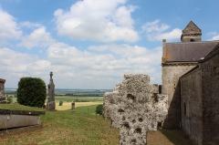Eglise - English: Eglise Notre Dame de Mont-devant-Sassey: exterior, cemetary.