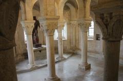 Eglise - English: Eglise Notre Dame de Mont-devant-Sassey: crypte