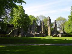 Terrains de zone rouge -  Vernietigde klooster van Montfaucon