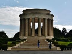Monument commémoratif américain - Deutsch: US-Kriegsdenkmal, Montsec, Département Maas, Region Lothringen (heute Großer Osten), Frankreich