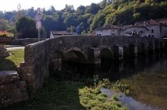Pont sur la Saulx - English:  Pont sur le Saulx from 1557 in Rupt-les-Nonains, Monument historique; Meuse, France.