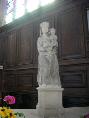 Eglise Saint-Etienne - Français:   Église Saint-Étienne de Saint-Mihiel (Meuse, France). Vierge à l\'Enant