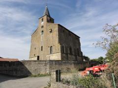 Eglise - English: Saint-Pierrevillers (Meuse) église