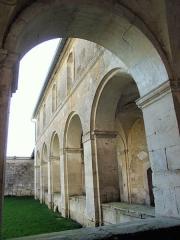 Ancienne abbaye de Jovilliers - Français:   Stainville - Abbaye des Prémontrés de Jovilliers - Cloître