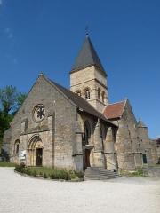 Eglise Saint-Menge - Français:   Eglise Saint-Menge de Trémont-sur-Saulx (Meuse).