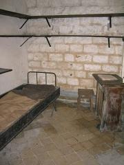 Fort de Vaux (également sur commune de Damloup) -  Fort de Vaux - Chambre du Commandant