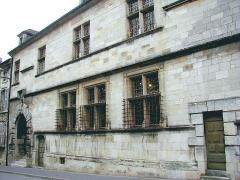 Hôtel de Princerie, actuellement musée - Français:   Verdun - Hôtel de La Princerie - Façade sur rue