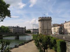 Porte Chaussée (porte et passage entre deux tours) -  Verdun