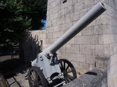 Monument A la Victoire et aux Soldats de Verdun -  Victory Monument (Verdun) cannon.