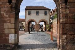 Porte de Strasbourg - Deutsch: Strasburger Tor in Bitsch