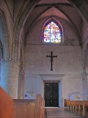 Ancienne abbaye Sainte-Croix - Deutsch: Kirche in Bouzonville