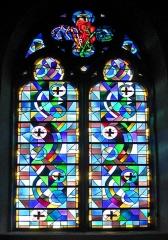 Ancienne abbaye Sainte-Croix - Deutsch: Kirchenfenster in Bouzonville
