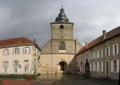 Ancienne abbaye Sainte-Croix - Deutsch: Kirche in Bouzonvill