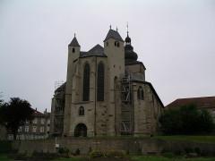 Ancienne abbaye Sainte-Croix - English: Bouzonville, Lorraine, Church