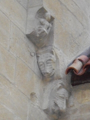 Eglise de Morlange - English: Outside Morlange's church, in Fameck, Moselle, France.