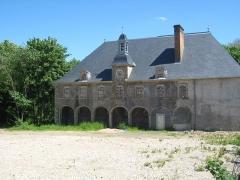 Domaine de Wendel et Château -  Ancien Château de Wendel, Hayange — le bâtiment de l'horloge (avant restauration)[1]