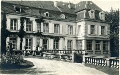 Château et fortifications - English: Castle Helleringen about 1916/17