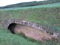 Aqueduc gallo-romain -  vestiges aqueduc Noveant Gorze