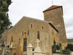 Eglise -  eglise Saint Gorgon Lessy